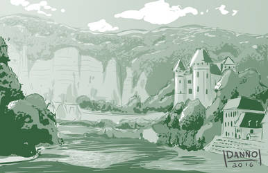 Digital Dailies - Landscape - Lakeside by DanielHooker