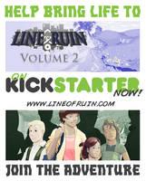Line of Ruin : Volume 2 - On Kickstarter Now by DanielHooker