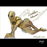 Spidersona : Golden Weaver by DanielHooker