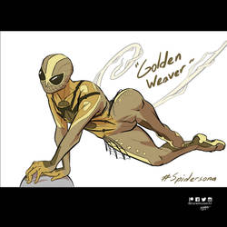 Spidersona : Golden Weaver by DanielHooker
