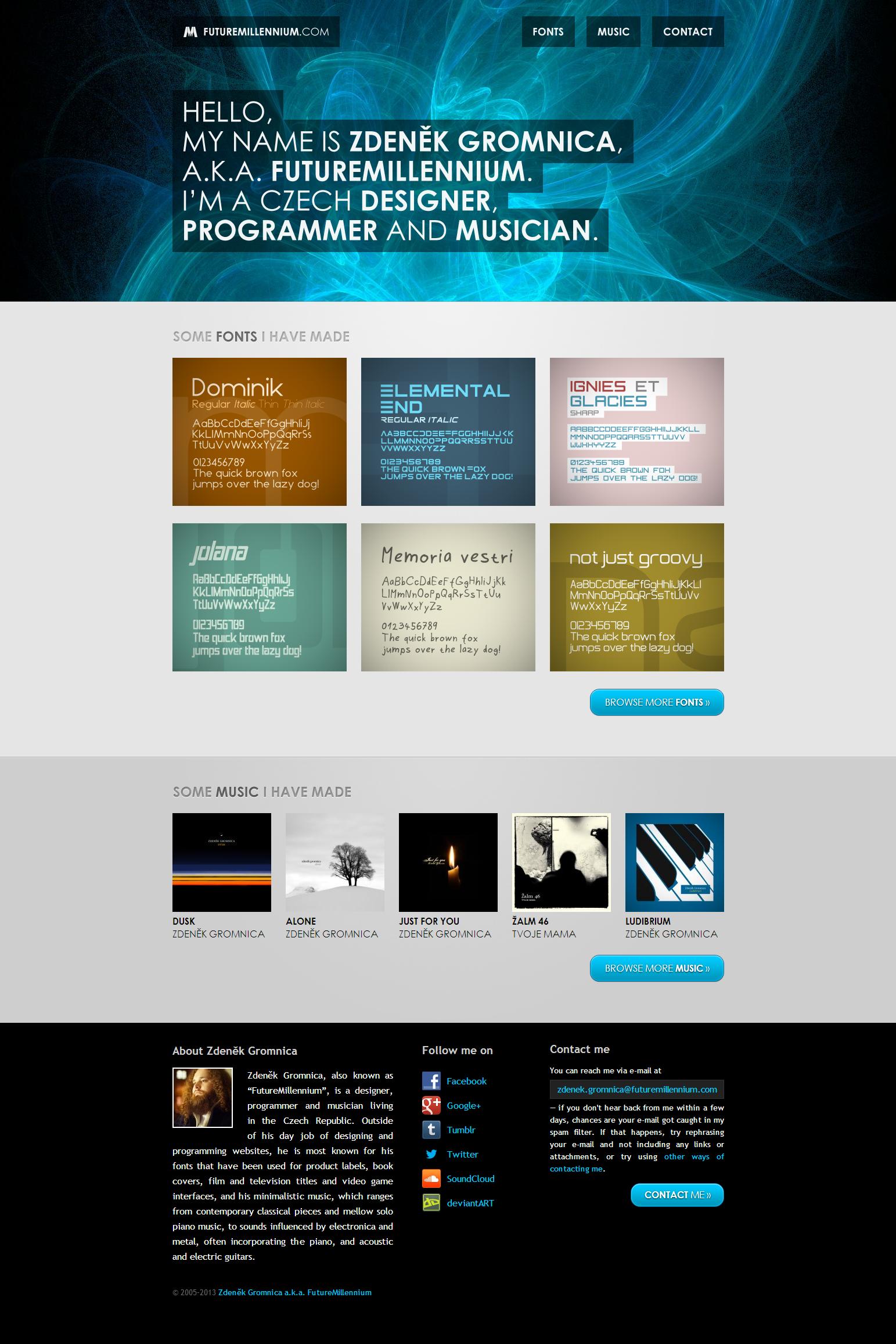 FutureMillennium.com 2012 website by FutureMillennium