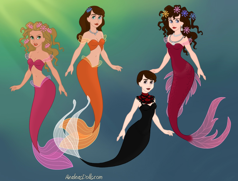 Outside Characters Little Mermaid World Pt. 2 by ...