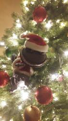 Randall In A Christmas Tree by BlackWolfStar15