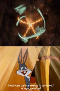Bugs Bunny Sugarcoats Ending To 9