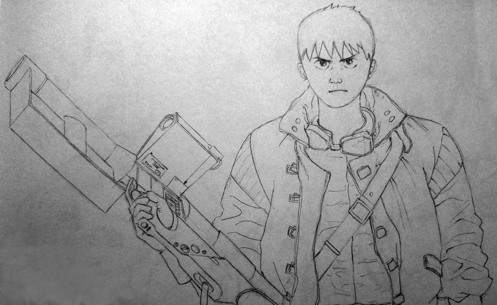 Akira - Kaneda by Doozel