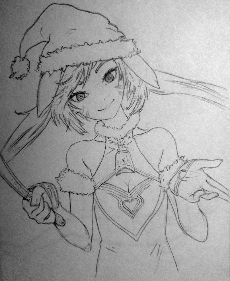 Santa Girl by Doozel