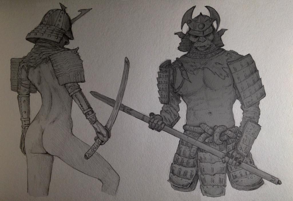Anatomic Samurai by Doozel