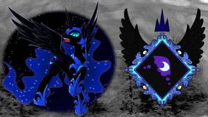 Nightmare Moon desktop