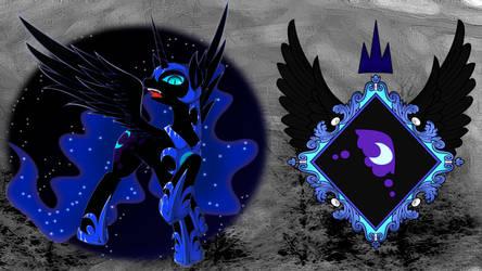 Nightmare Moon desktop by SerenitysArtwork