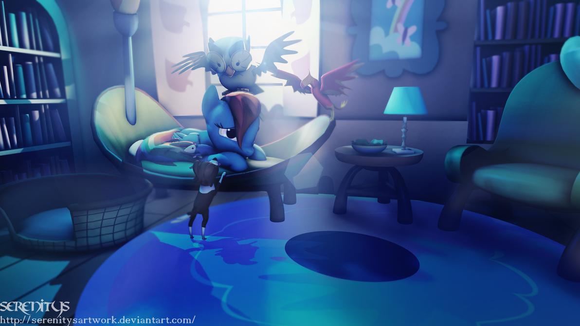 Dash:  pet sitting by SerenitysArtwork