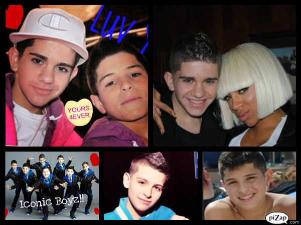 Collage of the BOYZ by linarules12