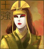 Avatar Kyoshi by Mengluoli