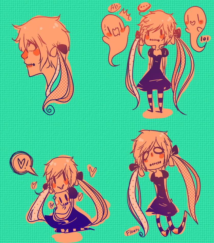 Melissa doodles by Mochii-chuu