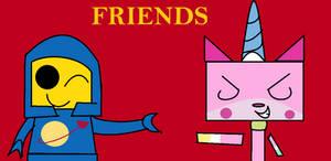 Unikitty and Benny - FRIENDS