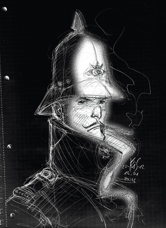 Grubert Kris02-szkic by Kris1966