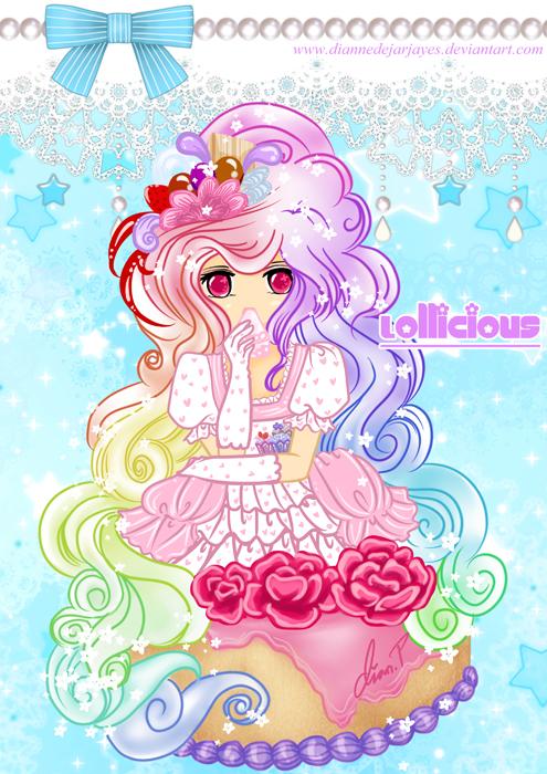Lollicious-RainbowCake by DianneDejarjayes