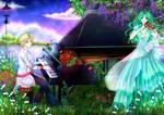 Haruka x Michiru - Togireta Melody