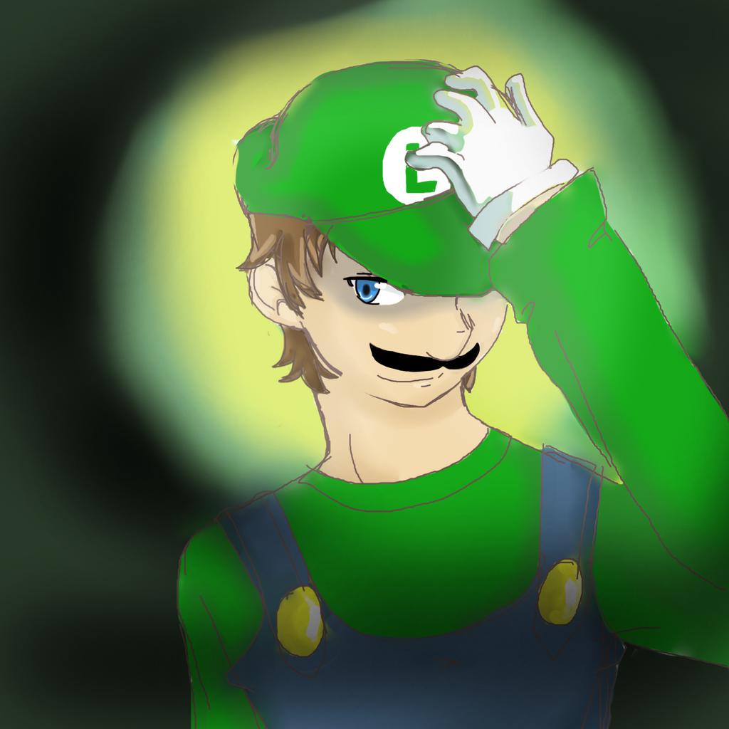 Luigi- the man in green by 12luigi