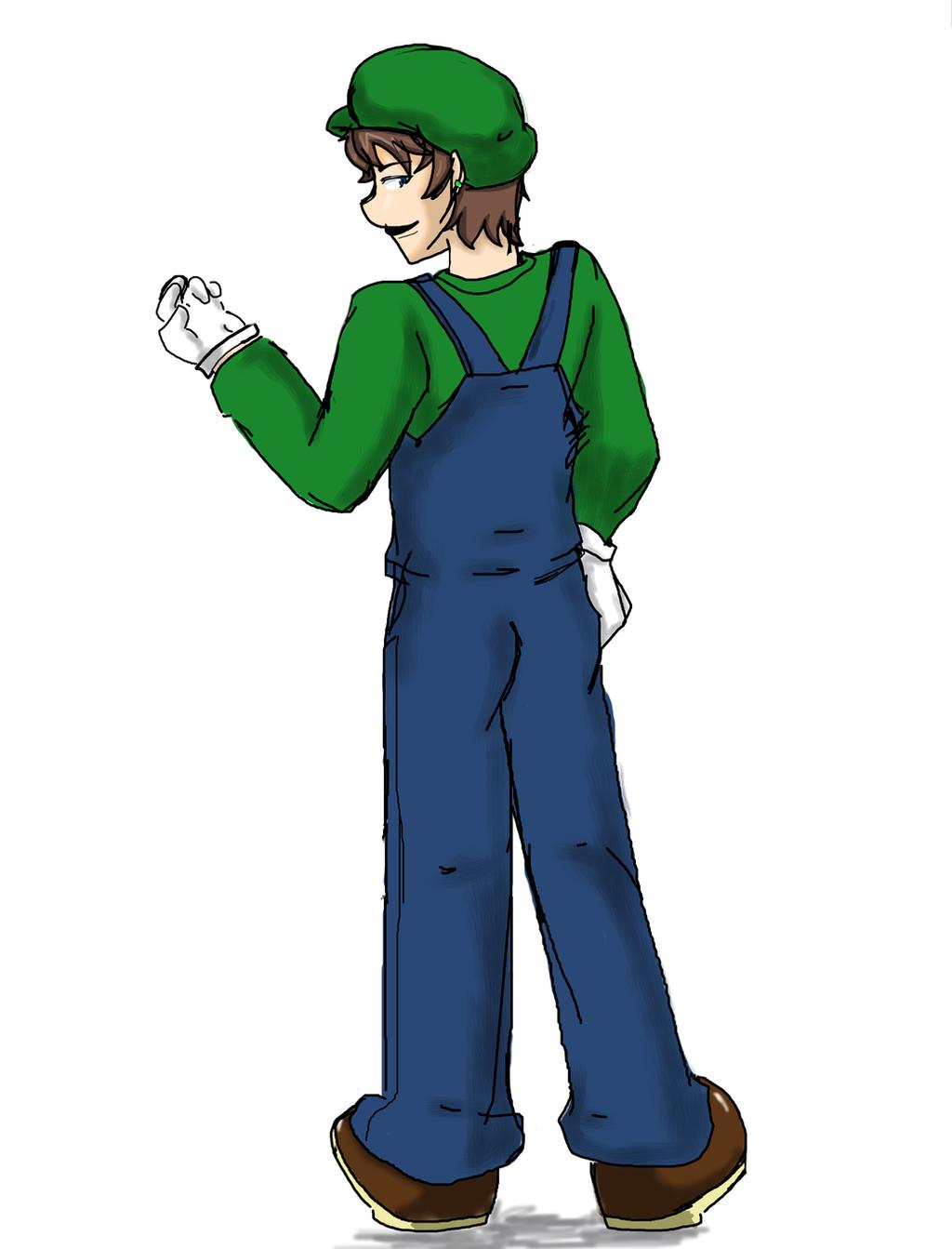 Luigi  by 12luigi