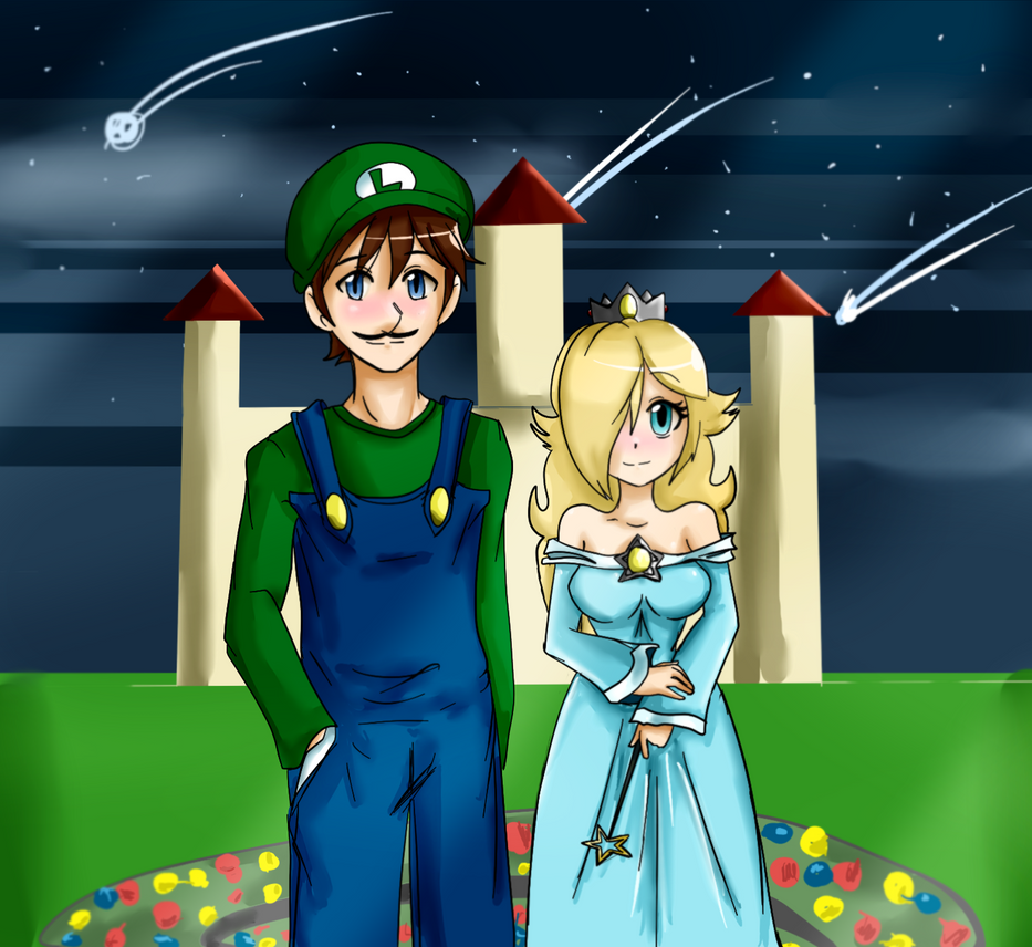 Luigi and Rosalina - star festival pic by 12luigi