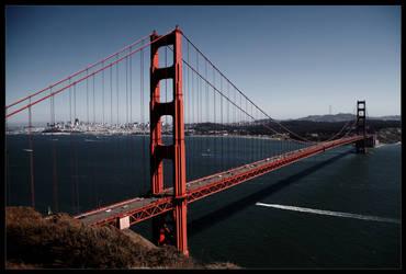 Golden Gate Bridge by drevilknevel