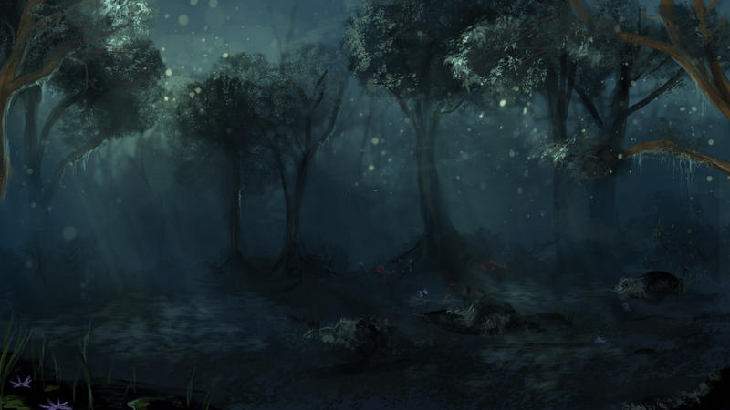 Dark Forest by calthyechild