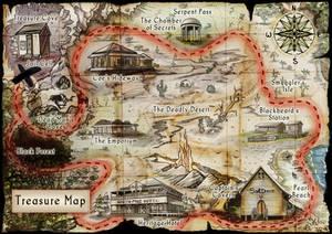 Treasure Map - Commission