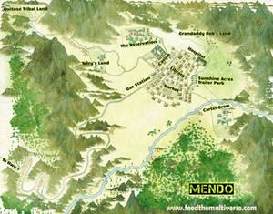 Mendo Village Map