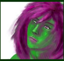 Alien Girl by calthyechild