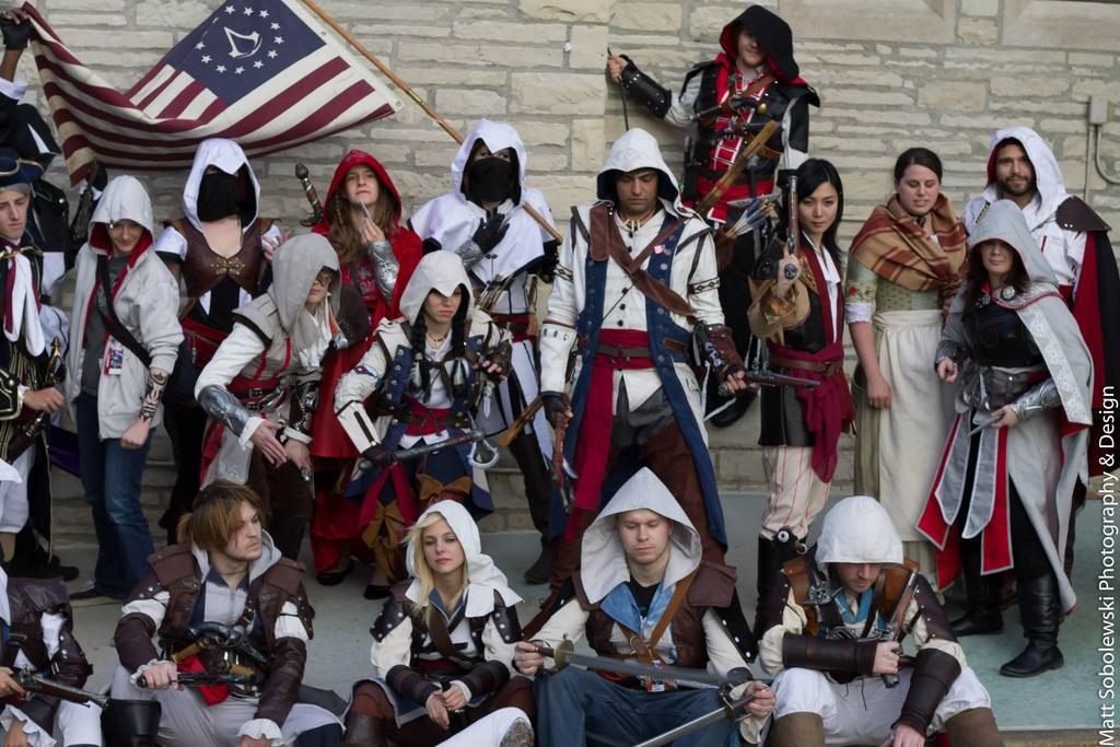 Youma 2014 - Assassin's Creed Shoot 1 by thatsthatonegirl