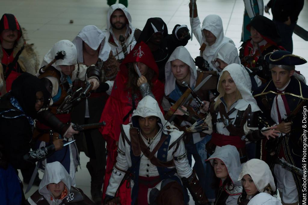 Youma 2014 - Assassin's Creed Shoot 2 by thatsthatonegirl