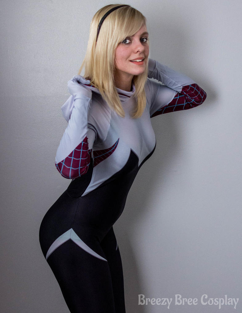 Gwen Stacy - The new Spider-woman by thatsthatonegirl