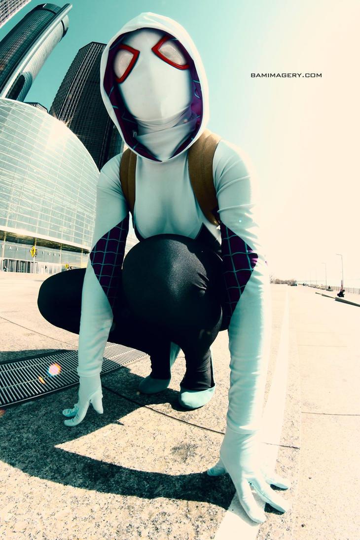 BAM - Spider-Gwen 01 by thatsthatonegirl