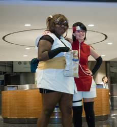 Youmacon 2015 Naruto: ChoCho and Sarada 01 by thatsthatonegirl