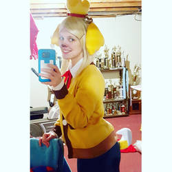 Isabelle Selfie by thatsthatonegirl