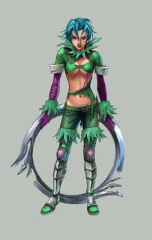 Tira from Soul Calibur III