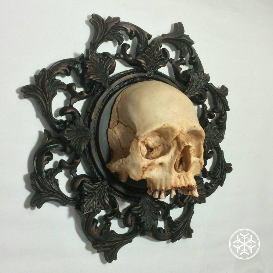 Skull frame 1:1 jawless by yeyeyeaaghh on DeviantArt