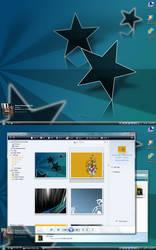 April Desktop - Stars