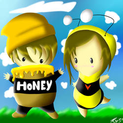 Honey and the Bee by Sir-English