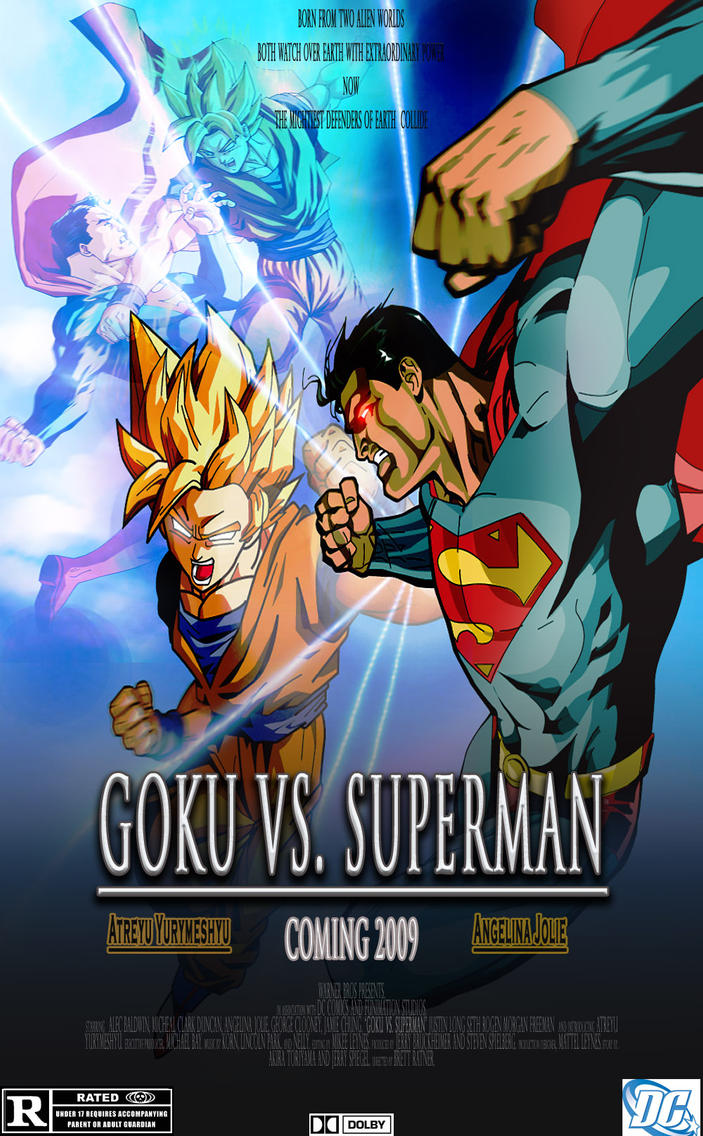 Goku Vs Superman The Movie by Tienchyu on DeviantArt