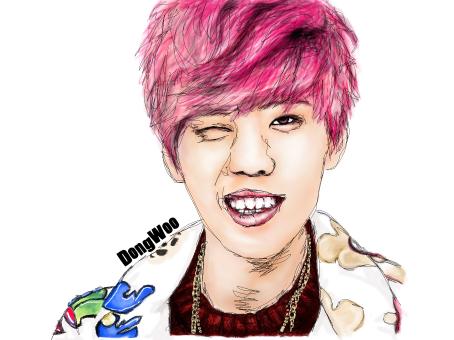 Infinite Dongwoo 2013 dongwoo color
