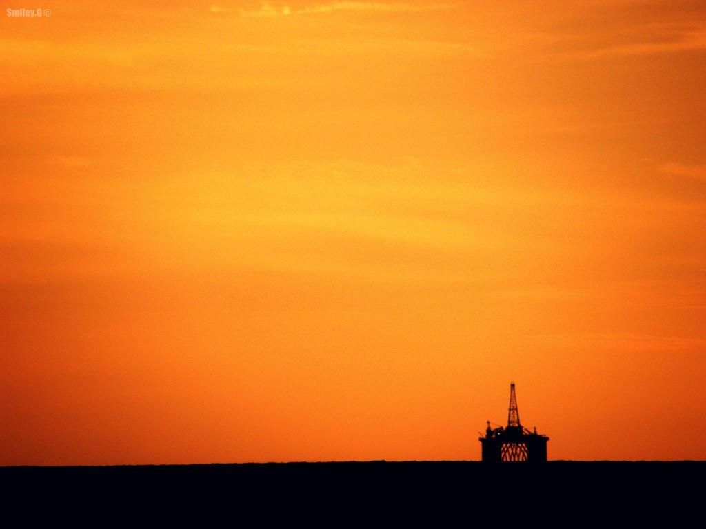 Oil Rig Vs Sky By December94 On DeviantArt