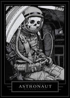 Astronaut by TinyDotsOfDeath