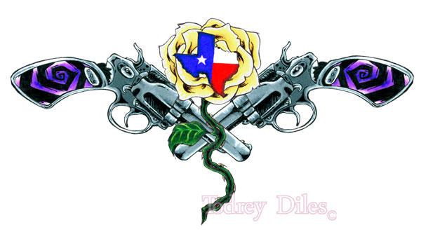 Texas tattoo design by todrey on deviantart for Texas tattoo license