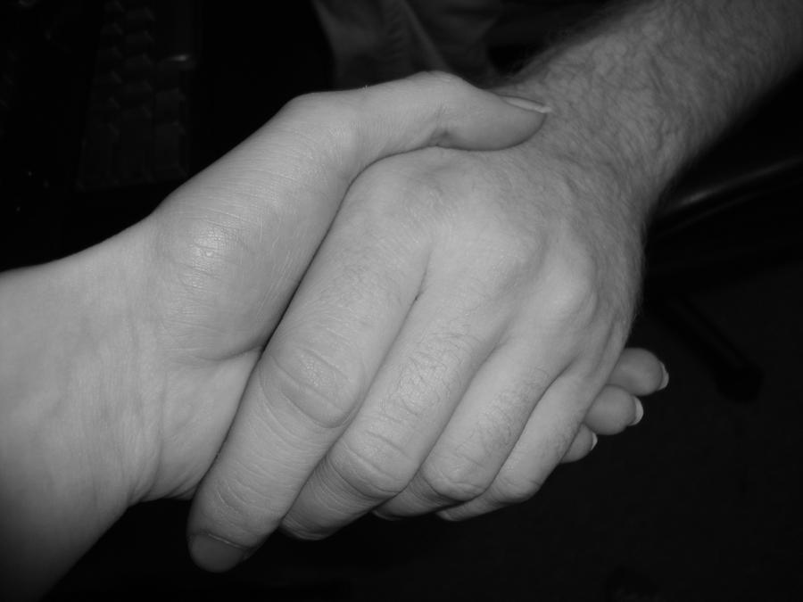 lending a hand by X-Bluberri-X
