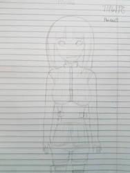 Hinata The Last Sketch  by Nuenue17