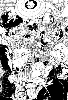 Deadpool vs the Marvel Zombies