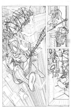 Spiderman Sample Pages 1