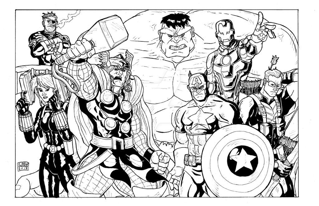 Avengers Assemble by Marvin000 on DeviantArt