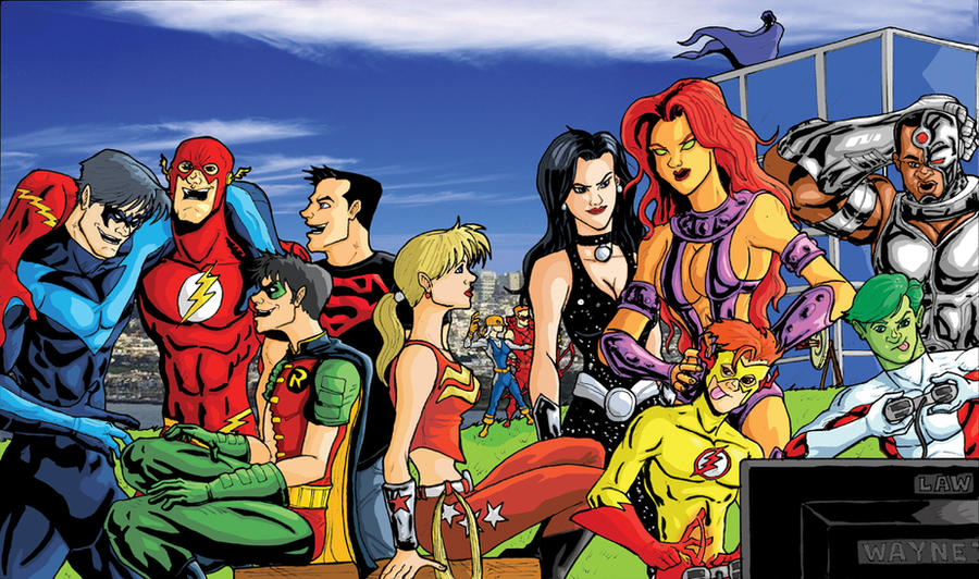 Titans Forever Print by Marvin000